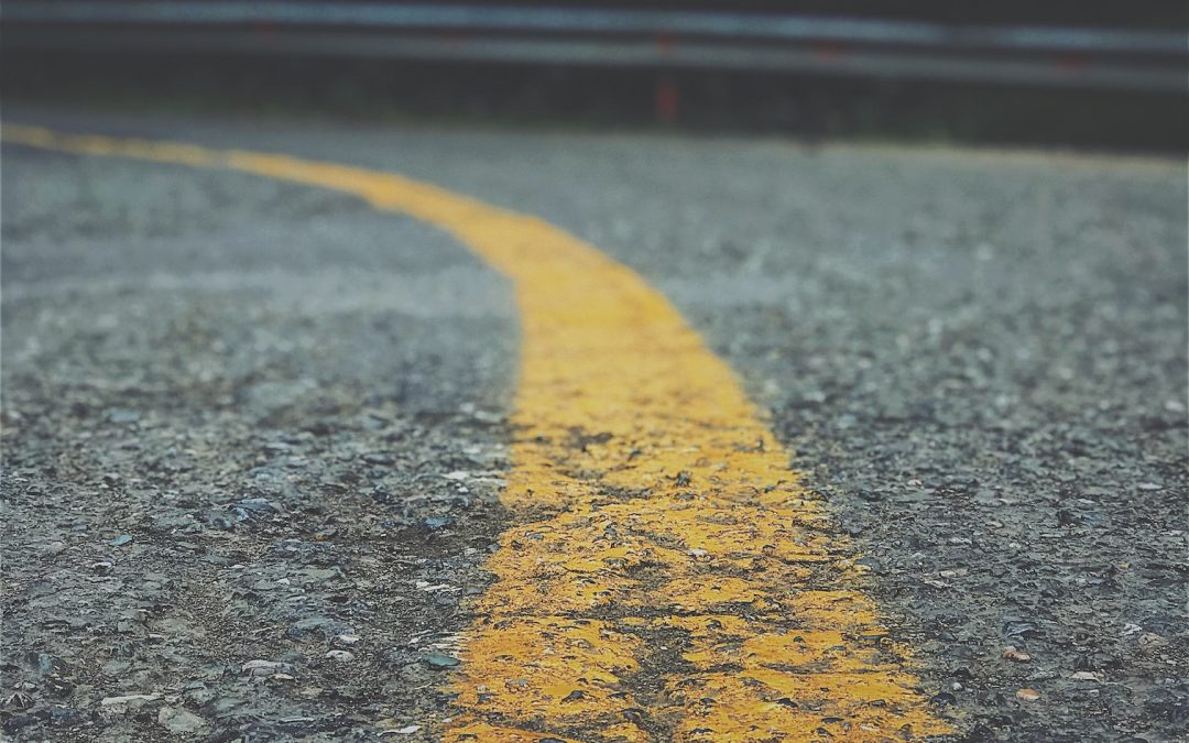 close up photography of asphalt road